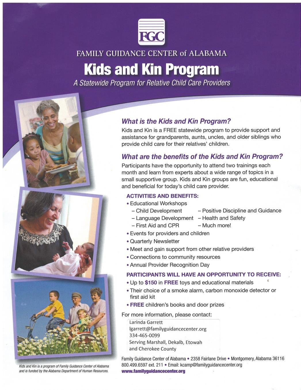 Kids and Kin Program