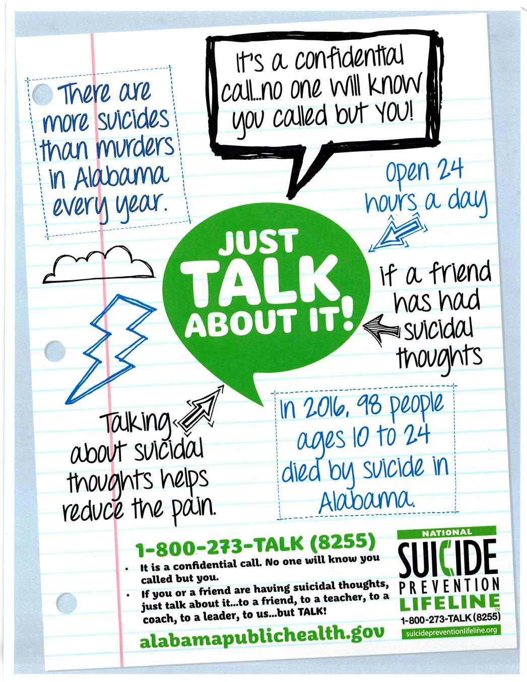 Suicide Prevention Flyer