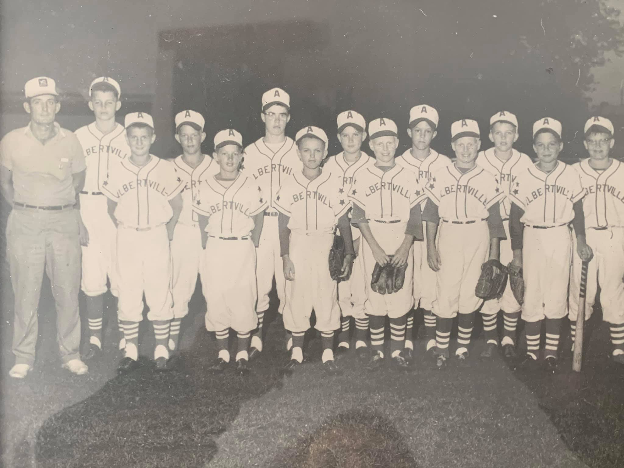 Photo Albertville Vintage Ball Team 1960s