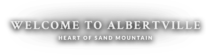 Welcome to Albertville Heart of Sand Mountain