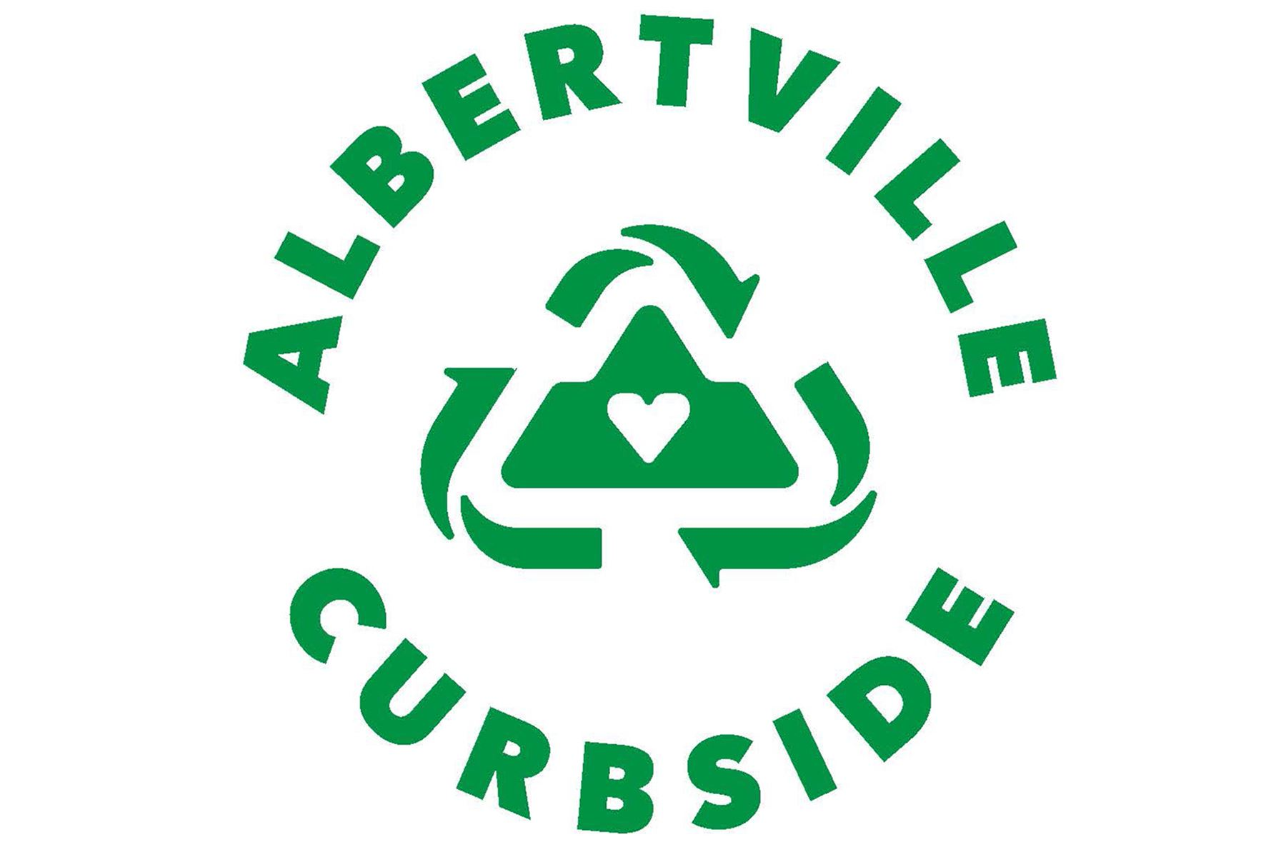 Albertville Curbside Recycle Logo